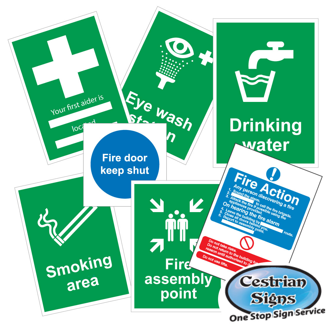 Safe Condition Safety Signs