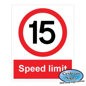 15-mph-site-speed limit-sign