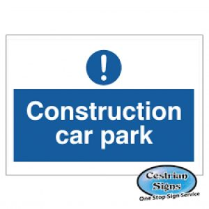 Construction Car Park Safety Signs