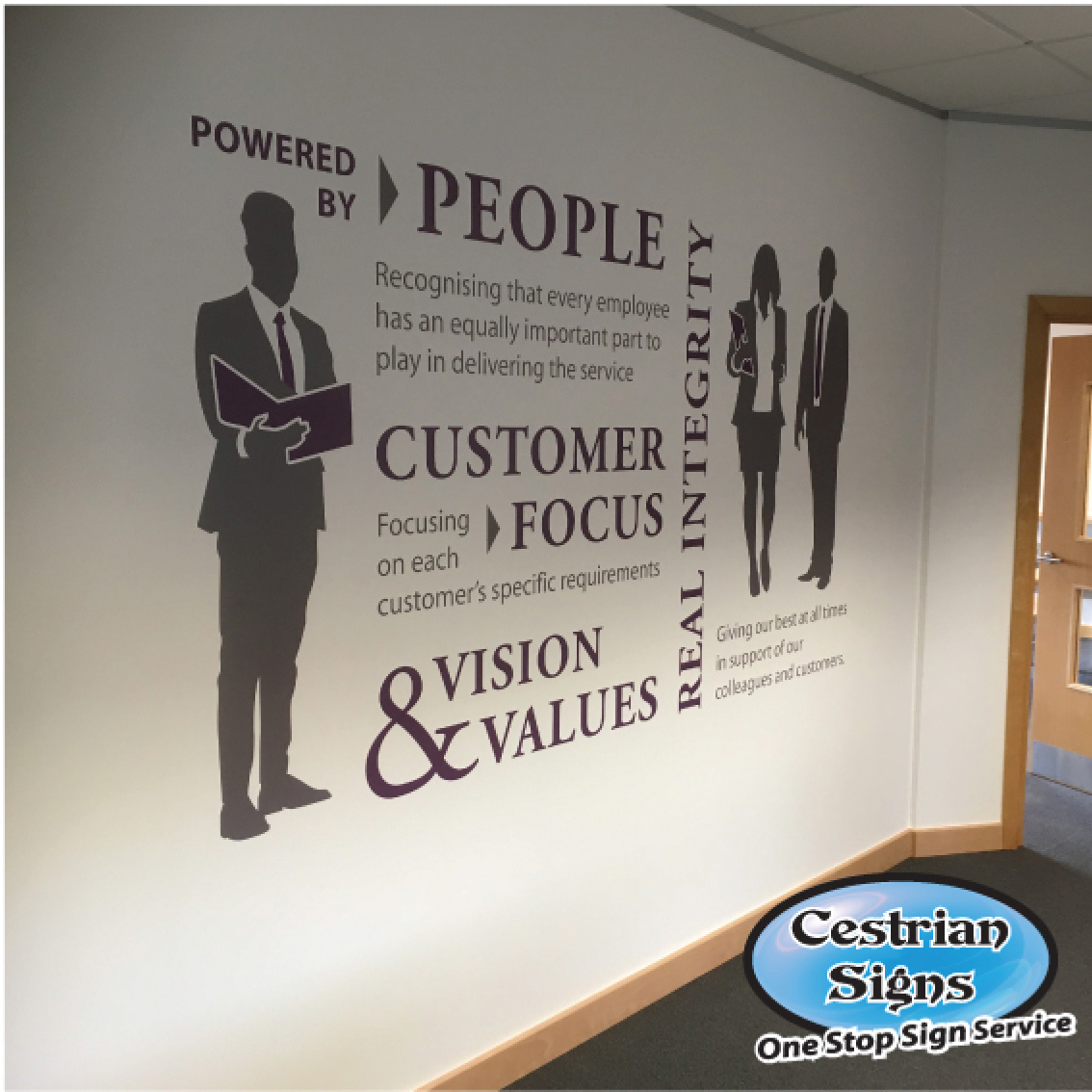 Office Wall Graphics and Decals