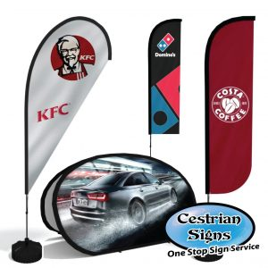 Printed Wind Flags and Displays