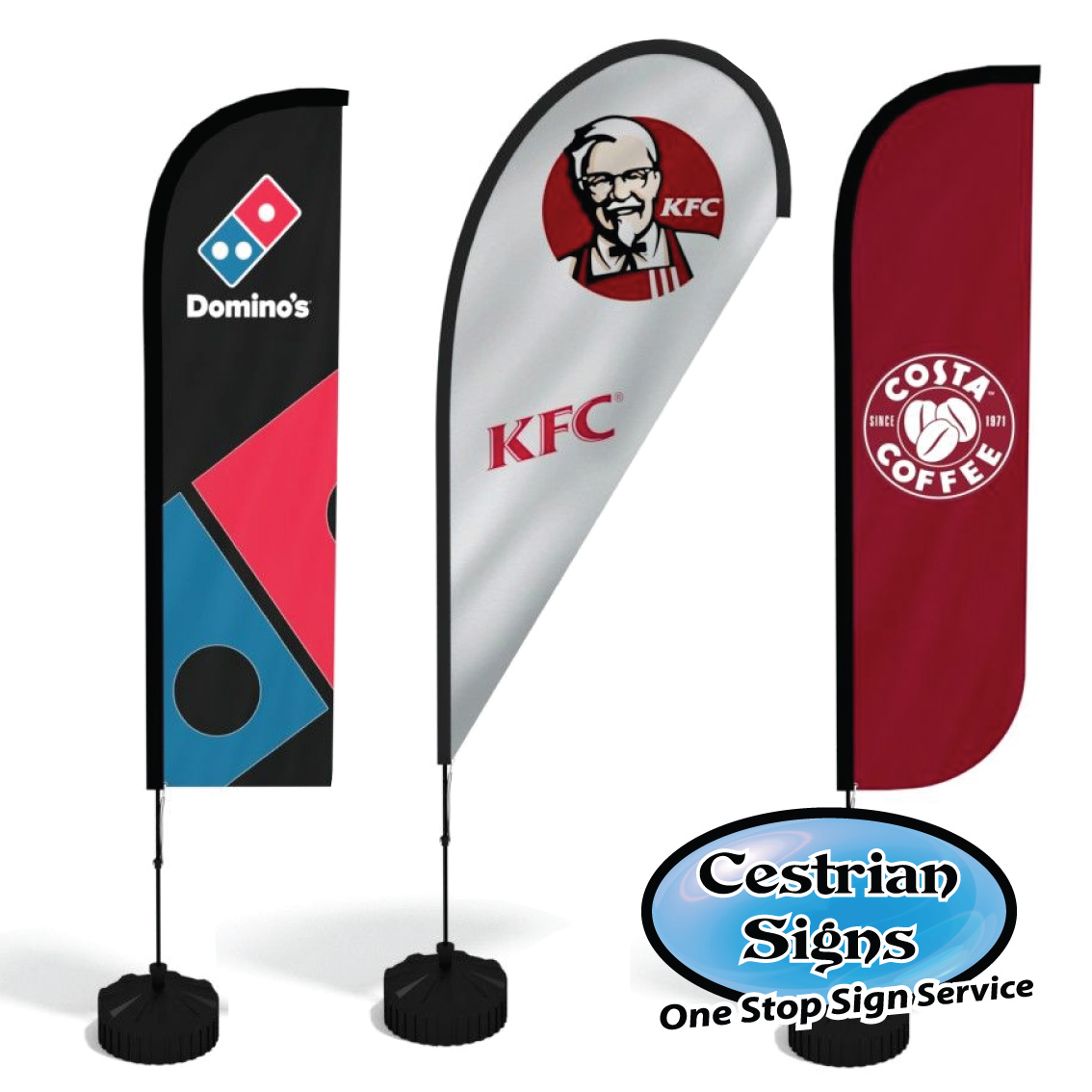 Custom Printed Wind Flags