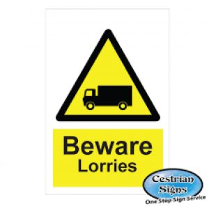 Vehicle Hazard Safety Signs