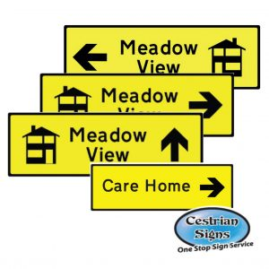 New Housing Development Directional Signage