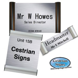 Office Name Plate Signs Printed