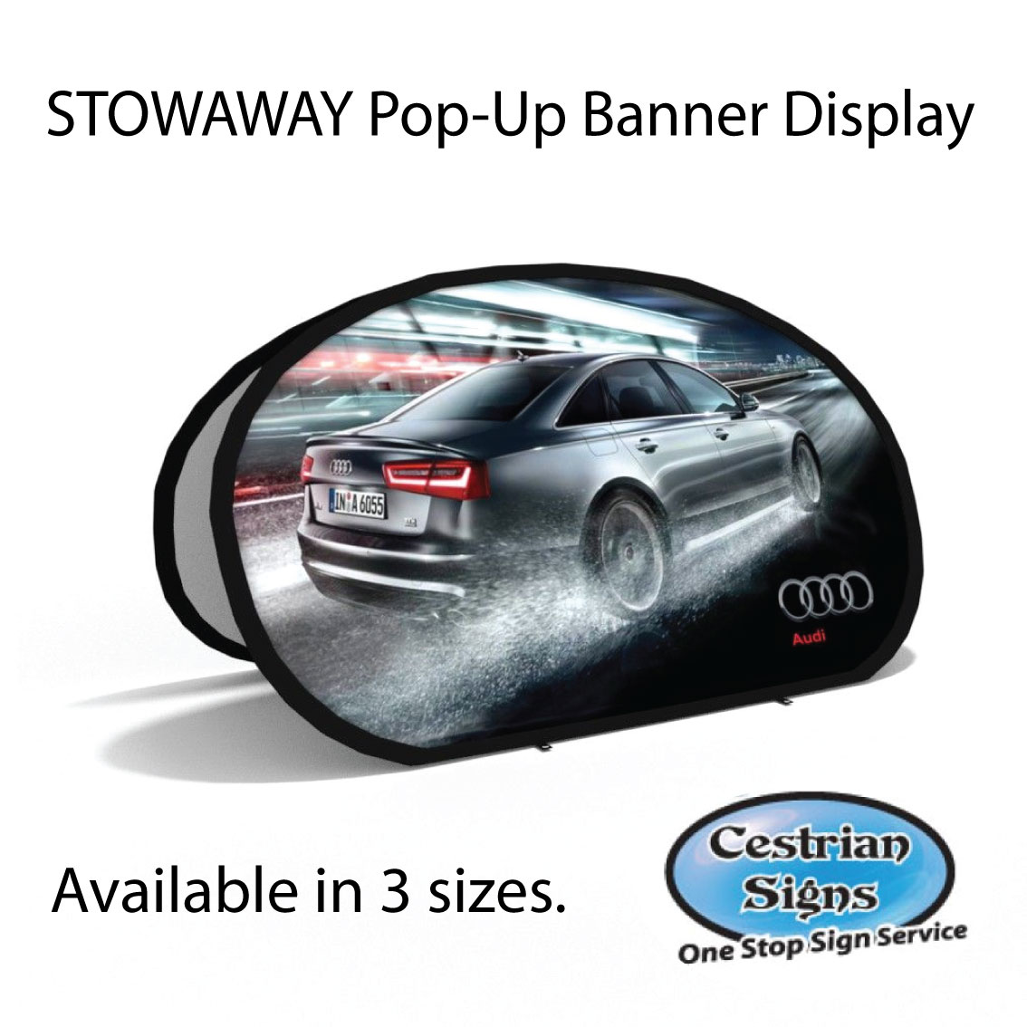 Shapped Pop-Up Displays
