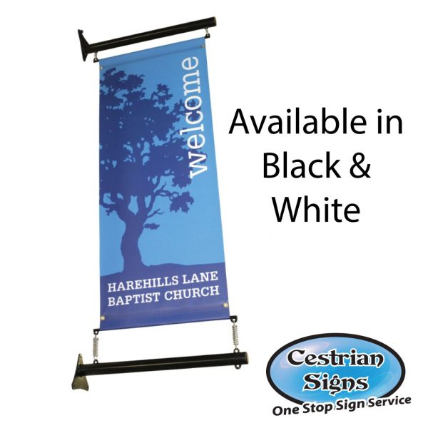 Projecting Wall Mounted Banner System 900 Mm
