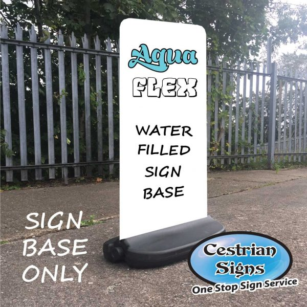Aqua-Flex Water Filled Sign Base