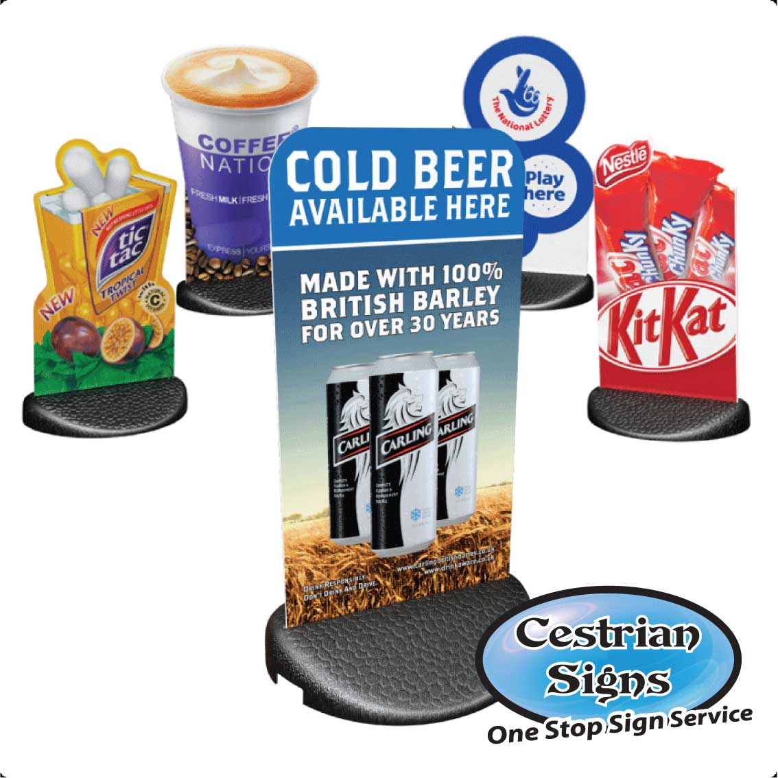 Freestanding Shop Pavement Signs