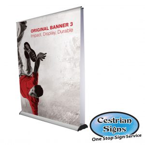 Pull up Banners 2000 mm Wide