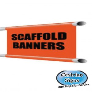Scaffolding Banners and Signs