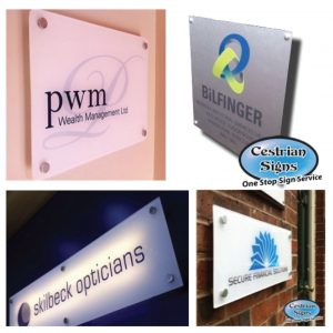 Office Plaque and Name-plate Signs