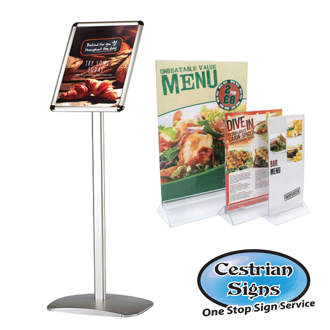 Menu & Information Displays