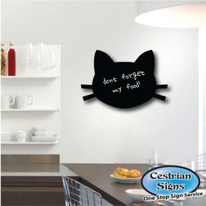 Shaped Black Boards and chalk boards