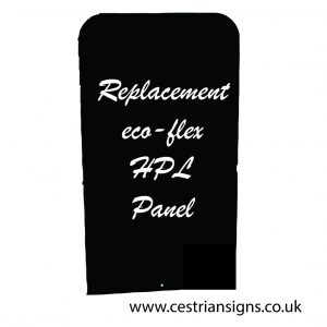 Ecoflextra HPL replacement chalk board panel