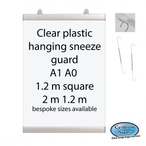 Anti viral sneeze protection screens