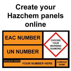 Hazchem tanker panels and plates