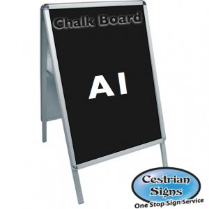 A-Master A1 Budget Chalk A Board Sign