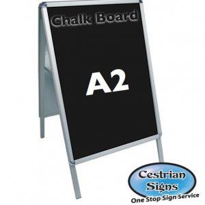 A-Master A2 Budget Chalk A Board Sign