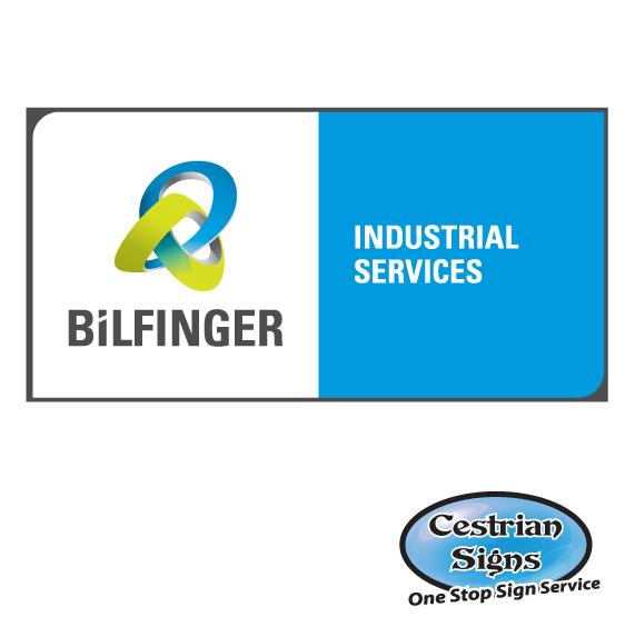 BiLFINGER Signage and Stickers