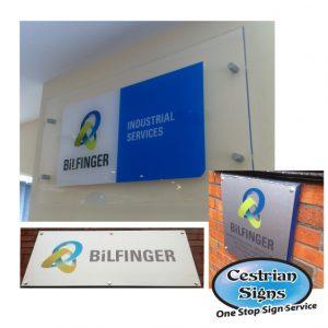 BiLFINGER Office Signage