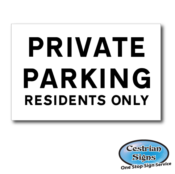 Christmas Tree Shop Binghamton Ny: Private Parking Residents Only Sign