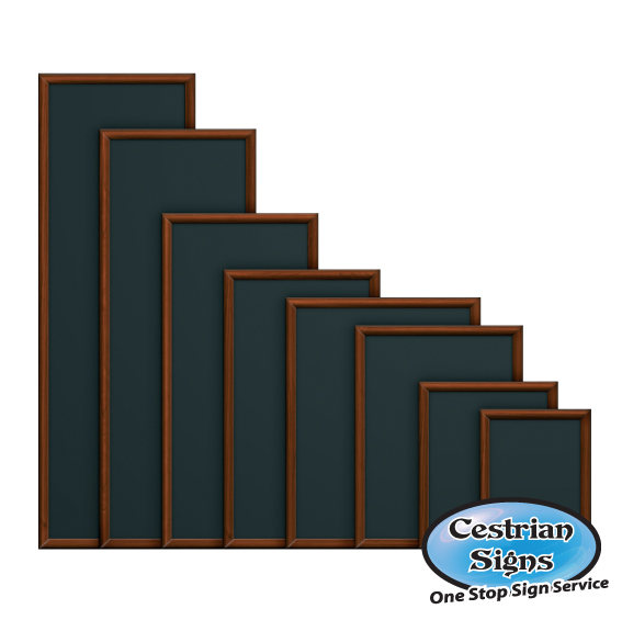 Hardwood Framed Chalk Wall boards