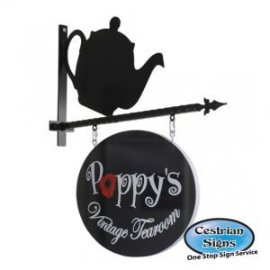 Teapot Projecting Hanging Sign Bracket