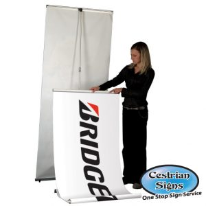Pull up Banners 1000 mm Wide