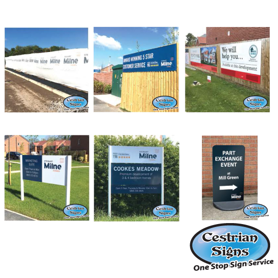 Showhome Advertising flags and signs