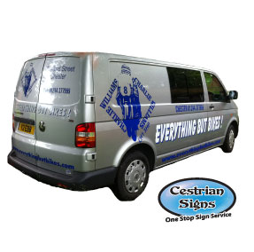 Vehicle and Van Signwriting