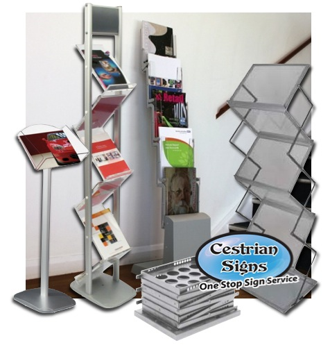 Brochure and Literature Stands