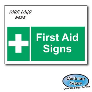 Construction Site First Aid Signs
