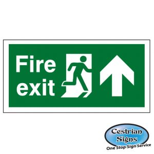 Fire Exit Safety Signs