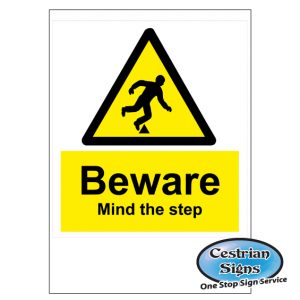 Danger Trip and Fall Construction Site Safety Signs
