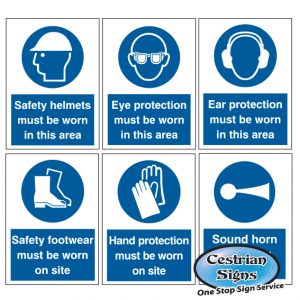 Mandatory Site Safety Signs