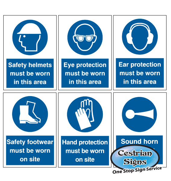 Mandatory Builders Site Safety Signs