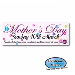 Mothers and Fathers Day Banners