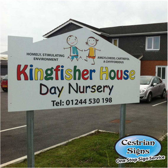 Day Nursery Signs. School Signs