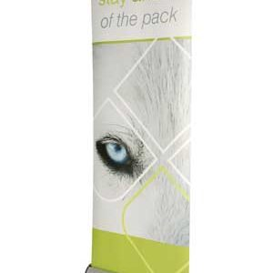 EXCALIBUR Double Sided Pull-Up Banner Stand 800 MM