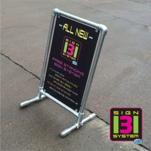 Free Standing Pavement Panel Sign